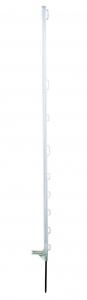 Piquet plastique blanc 1,40 m x10