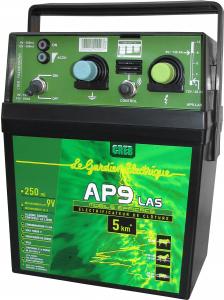 Électrificateur portable sur pile ou suraccu AP 9 LAS