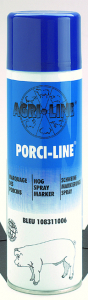 Bombe à marquer - Porci-Line - Bleu