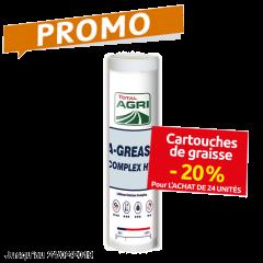 Graisse adhésive - Molydal - LCH 250 - Cartouche de 400 gr Promo