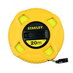 Mesure longue 20 m - Largeur 12,7 mm - Stanley