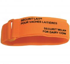Bracelet Orange Sécurit'lait x6 - Velcro - Soins & Hygiène