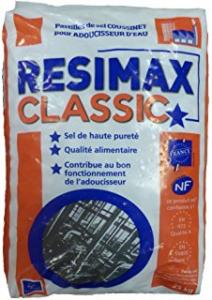 Pastilles de sel adoucissant - Resimax Classic - 25 kg
