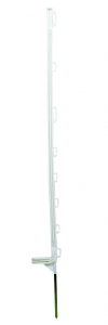 Piquet plastique blanc 1,10 m x10