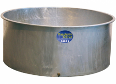Bac de pâturage galvanisé - 1000 L - Pasdelou