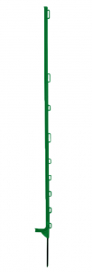 Piquet plastique vert 1,40 m x10