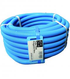 Tube PER prégainé bleu - 10 x 12 - 25 m
