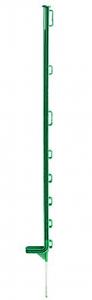 Piquet plastique vert 1,10 m x10