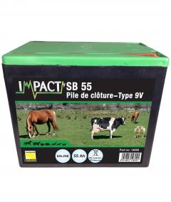 Pile Saline - 55 aH - 8,4 V