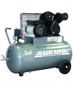 Compresseur - 100 litres - 3 CV - Monophasé