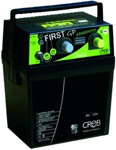 Électrificateur portable sur pile ou sur accu First GP