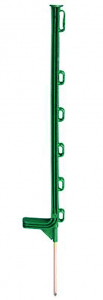 Piquet plastique vert 0,75 m x10