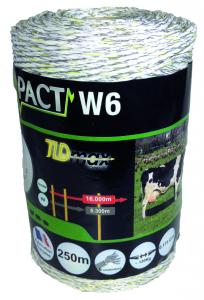 Fil impact W6 - Blanc - 250 m