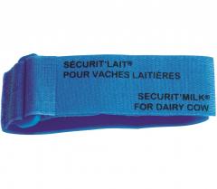 Bracelet Bleu Sécurit'lait x6 - Velcro - Soins & hygiène