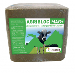 Agribloc Mag+ - Bloc de 12 kg