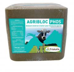 Agribloc Phos - Bloc de 12 kg