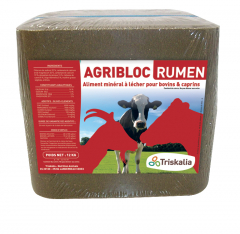 Agribloc Rumen - Bloc de 12 kg