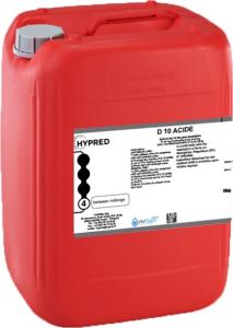 Détartrant D10 Acide - Bidon de 25 kg