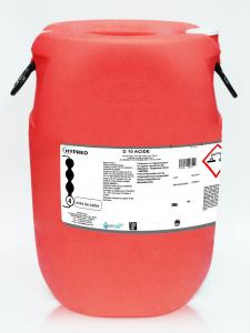 Détartrant D10 Acide - Fût de 70 kg