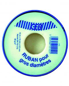 Ruban pour gros diamètres - Telafix - GEB - 19 mm x 15 m
