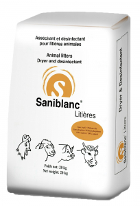 Saniblanc Litières - Sac de 20 kg