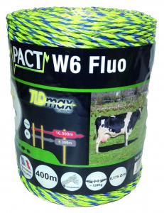 Fil impact W6 - Fluo - 400 m