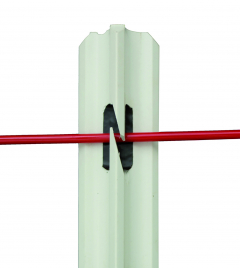 Piquet PVC 25 x 25 de 1,14 m
