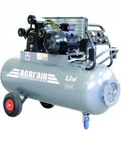 Compresseur - 200 litres - 5,5 CV - Triphasé