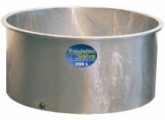 Bac de pâturage galvanisé - 420 L