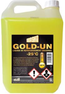 Liquide de refroidissement - Alaska Gold Un - -25°C - 5L