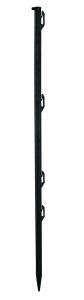 Piquet plastique noir 0,70 m x20