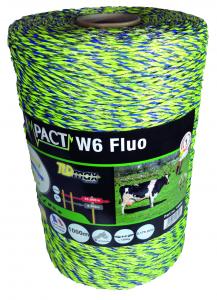 Fil impact W6 - Fluo - 1000 m