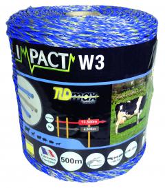 Fil impact W3 - Bleu - 500 m