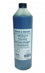 Encre à tatouer noire - Bouteille de 1 L - Soins & hygiène