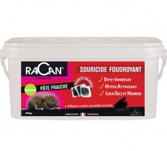 Racan Souricide Foudrayant - Seau de 48 sachets de 10 g
