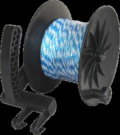 Enrouleur + 200 m de fil bleu - LACME
