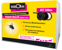 Kit ruban englué + bobine 500 m