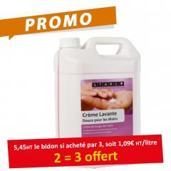 Crème lavante main parfumée - Starco - Bidon de 5 L - Promo