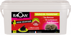 Souricide foudroyant grains  - Racan - Seau 1 kg